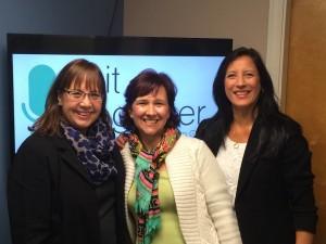 Anita, Trish and Lori