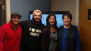 Chris, Kenny, Lori and Linda