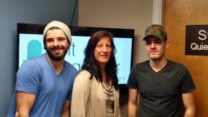 Kenny, Lori and Alex