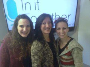 Catherine, Lori and Lydia